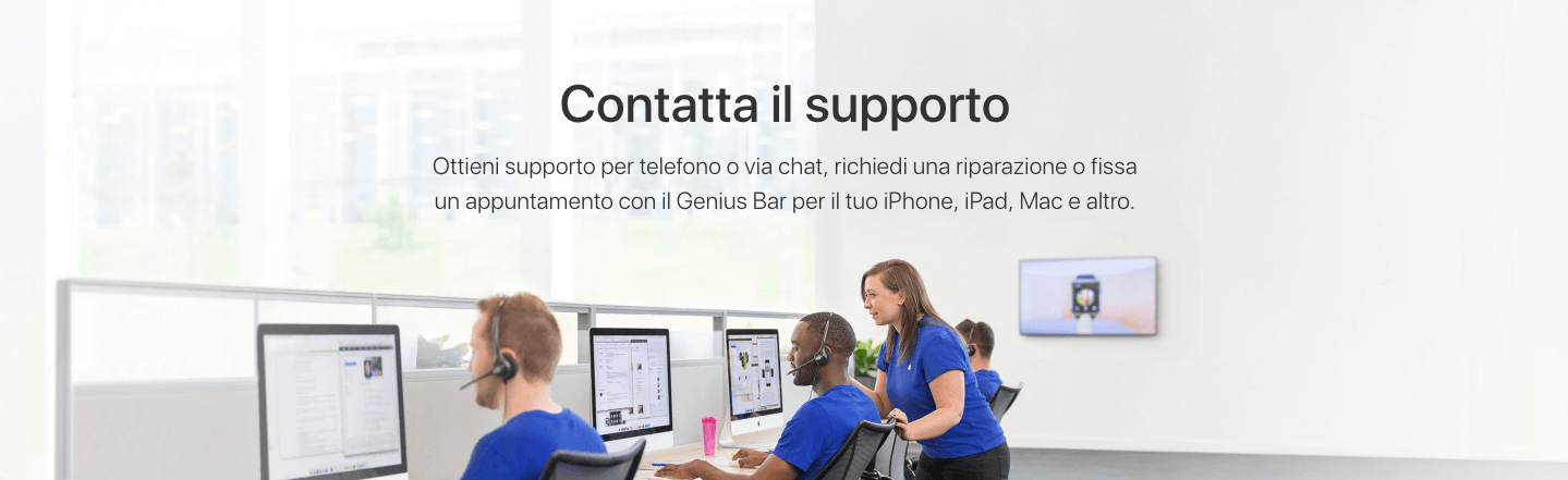 domande frequenti faq apple