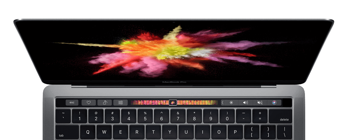 macbook pro touch bar apple