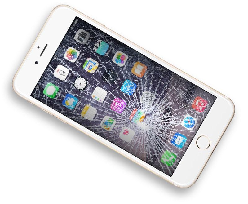riparazione iphone 8 schermo rotto