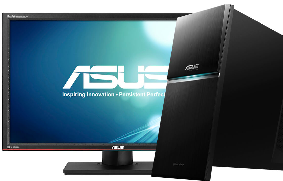 computer desktop asus g10 monitor