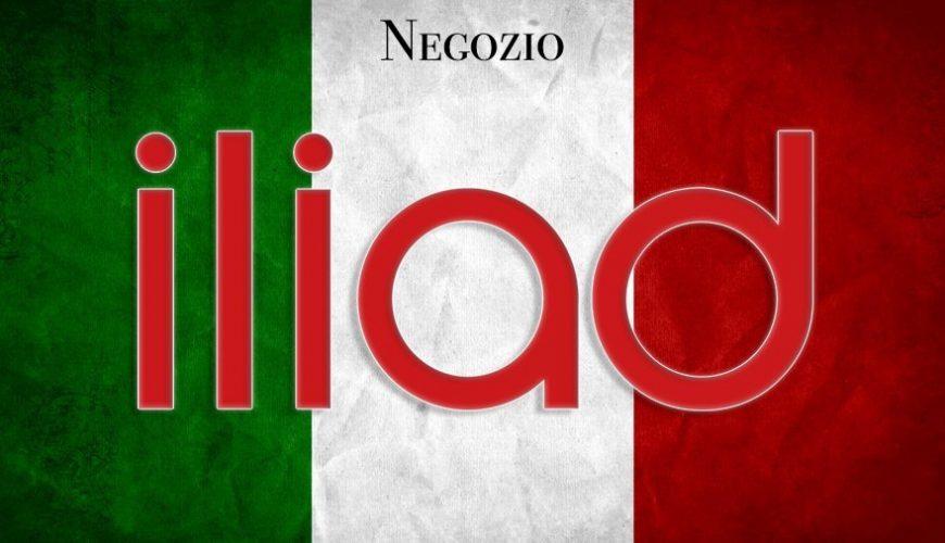 lista store e negozio iliad in italia