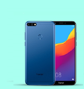 smartphone honor 7c